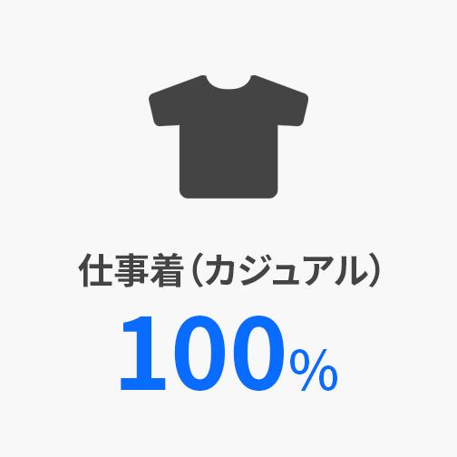 仕事着(カジュアル100%